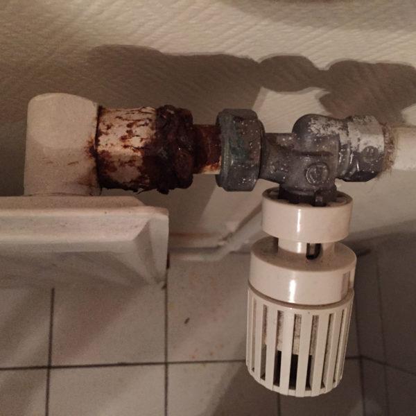 Urgences - Robinet radiateur